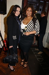 Left to right, KATE BRINDLEY and Singer MEL C formerly of the Spicegirls at a party to celebrate the opening of the new fashion store Jezebell at 59 Blandford Street, London W1 on 20th April 2006.<br /><br />NON EXCLUSIVE - WORLD RIGHTS