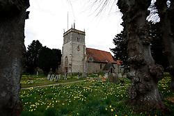 UK ENGLAND BERKSHIRE BUCKLEBURY 22MAR11 - The parish church of St. Mary the Virgin in Bucklebury, Berkshire, England...jre/Photo by Jiri Rezac..© Jiri Rezac 2011