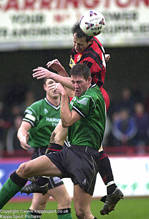 LEE HUDSON KETTERING TOWN, Kettering Town v Northwich Victoria, Rockingham Road, 11th November 2000