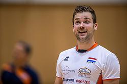 04-06-2016 NED: Nederland - Duitsland, Doetinchem<br /> Nederland speelt de tweede oefenwedstrijd in Doetinchem en verslaat Duitsland opnieuw met 3-1 / Dirk Sparidans #5