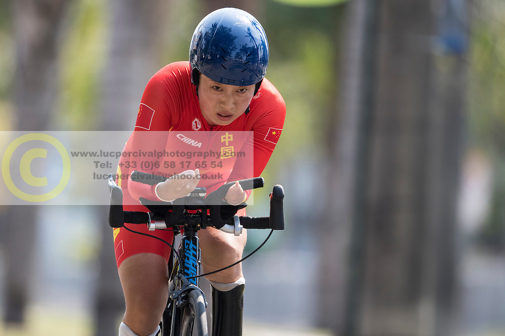CHN, Cycling, Time-Trial at Rio 2016 Paralympic Games, Brazil