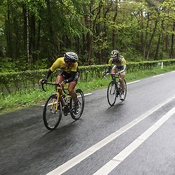60e ronde van Overijssel Reinhardt Janse van Rensburg tries to get out in the final