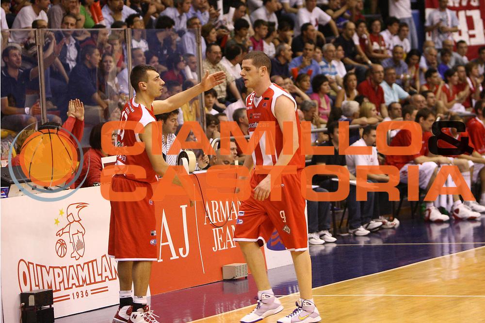 DESCRIZIONE : Milano Lega A 2008-09 Playoff Quarti di finale Gara 2 Armani Jeans Milano Bancatercas Teramo<br /> GIOCATORE : Gianluca Lulli<br /> SQUADRA : Bancatercas Teramo<br /> EVENTO : Campionato Lega A 2008-2009 <br /> GARA : Armani Jeans Milano Bancatercas Teramo<br /> DATA : 20/05/2009<br /> CATEGORIA :<br /> SPORT : Pallacanestro <br /> AUTORE : Agenzia Ciamillo-Castoria/C.De Massis