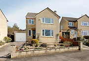Detached two storey house with garage in Weston Near Bath on the Cotswold Way