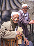 Two old men in Cairo, Egypt