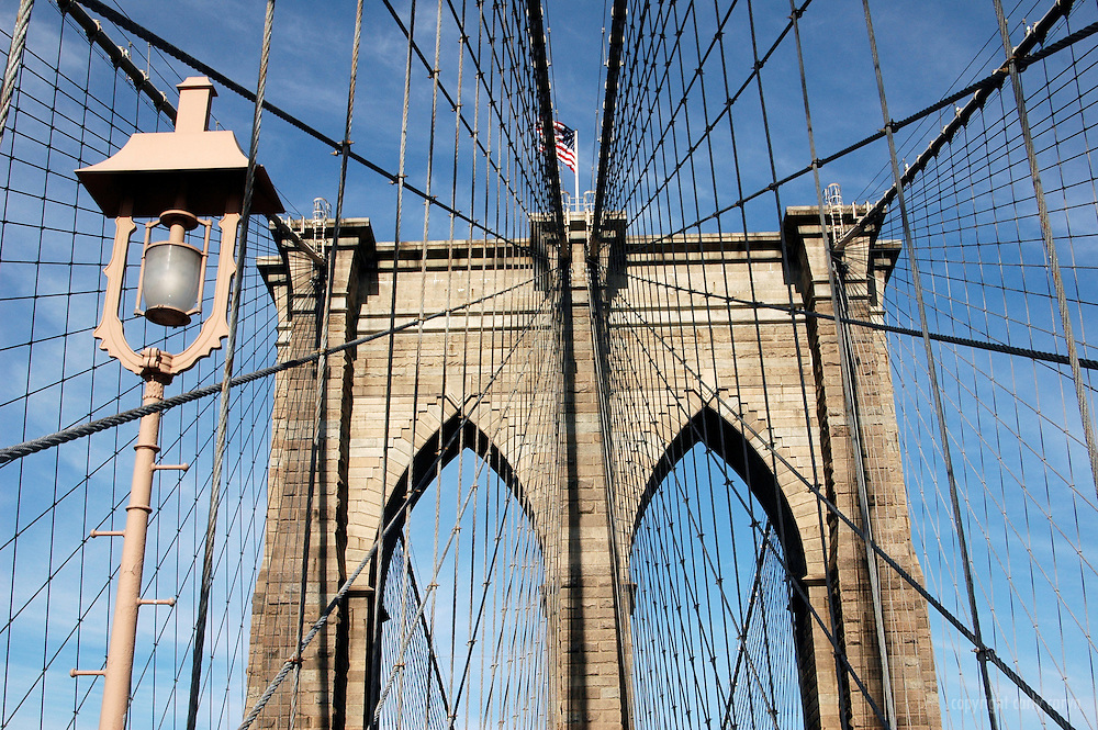 Brooklyn Bridge, horizontal detail