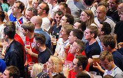 Fans watch England vs Slovakia on the big screen in The Sports Bar and Grill at Ashton Gate - Mandatory by-line: Robbie Stephenson/JMP - 20/06/2016 - FOOTBALL - Ashton Gate - Bristol, United Kingdom  - England vs Slovakia - UEFA Euro 2016
