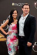 Julie Benz, Grant Bowler attends photocall at the Grimaldi Forum on June 9, 2014 in Monte-Carlo, Monaco.