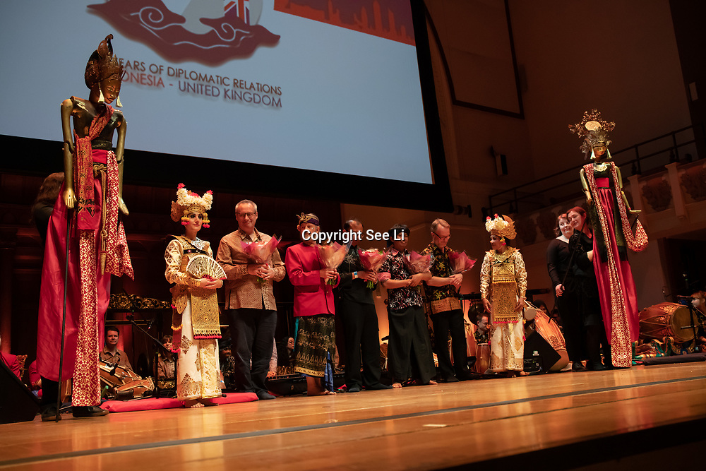 The Embassy of the Republic of Indonesia  celebrating the 70th anniversary of Indonesia and the United Kingdom Diplomatic Relations at Cadogan Hall on 17 June 2019, London, UK.