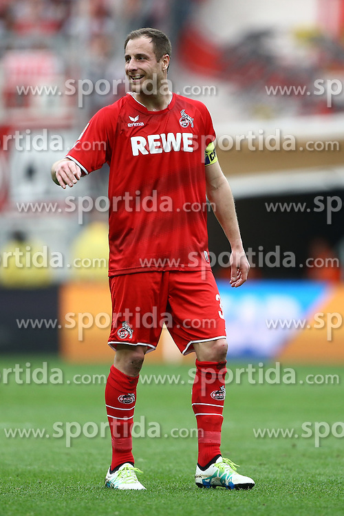 03.04.2016, Wirsol Rhein Neckar Arena, Sinsheim, GER, 1. FBL, TSG 1899 Hoffenheim vs 1. FC Koeln, 28. Runde, im Bild Matthias Lehmann (1.FC Koeln) gibt Anweisungen // during the German Bundesliga 28th round match between TSG 1899 Hoffenheim and 1. FC Cologne at the Wirsol Rhein Neckar Arena in Sinsheim, Germany on 2016/04/03. EXPA Pictures &copy; 2016, PhotoCredit: EXPA/ Eibner-Pressefoto/ Neis<br /> <br /> *****ATTENTION - OUT of GER*****