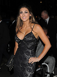 Luisa Zissman attends the Pride of Britain awards at Grosvenor House in London, UK. 07/10/2013<br />