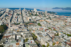 Overview of the City of San Francisco, CA