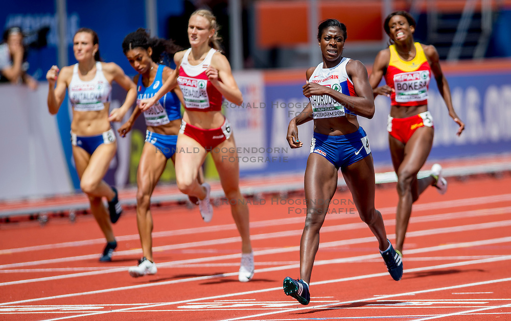 06-07-2016 NED: European Athletics Championships, Amsterdam<br /> Christine Ohuruogu GBR