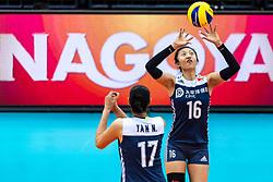 16-10-2018 JPN: World Championship Volleyball Women day 17, Nagoya<br /> Netherlands - China 1-3 / Xia Ding #16 of China