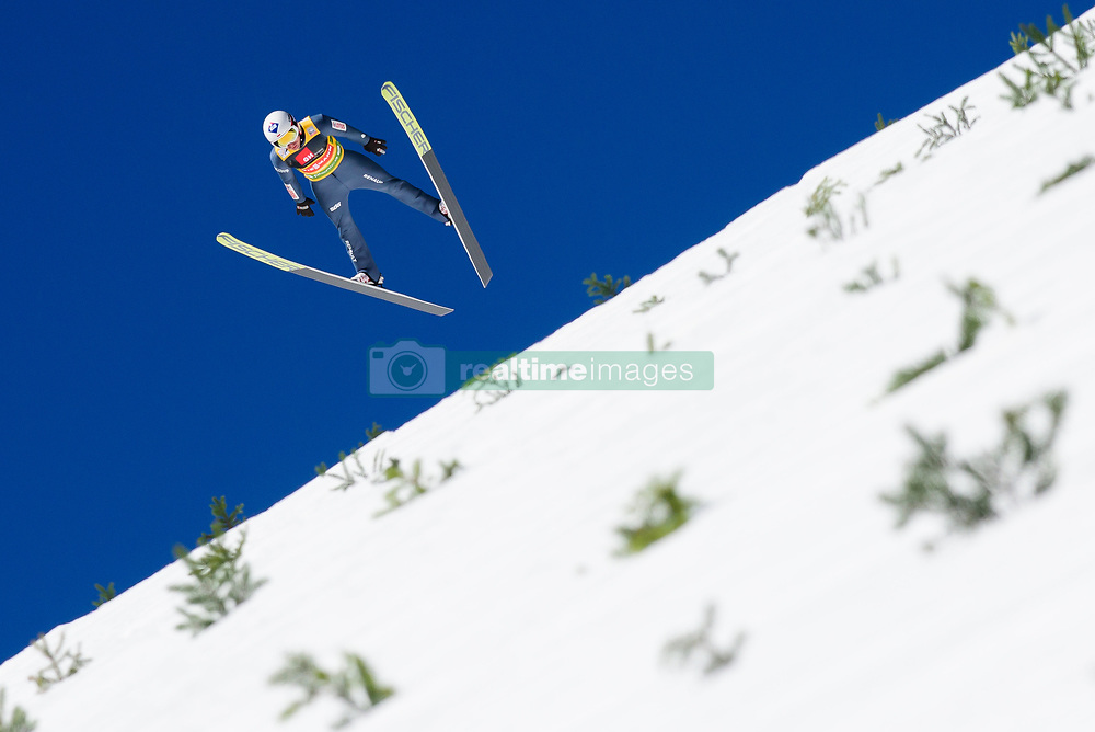 March 23, 2019 - Planica, Slovenia - Kamil Stoch of Poland in action during the team competition at Planica FIS Ski Jumping World Cup finals  on March 23, 2019 in Planica, Slovenia. (Credit Image: © Rok Rakun/Pacific Press via ZUMA Wire)