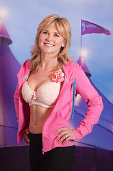 "© Licensed to London News Pictures. 12/05/2012. London, England. TV Presenter Anthea Turner. The MoonWalk London 2012, Celebrating 15 years of Moon Walking for the breast cancer charity ""Walk the Walk"". Photo credit: Bettina Strenske/LNP"