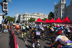 The racing starts in earnest on Stage 2 of the Madrid Challenge - a 100.3 km road race, starting and finishing in Madrid on September 16, 2018, in Spain. (Photo by Balint Hamvas/Velofocus.com)