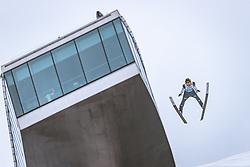 22.02.2019, Bergiselschanze, Innsbruck, AUT, FIS Weltmeisterschaften Ski Nordisch, Seefeld 2019, Skisprung, Herren, im Bild Timi Zajc (SLO) // Timi Zajc of Slovenia during the men's Skijumping of FIS Nordic Ski World Championships 2019. Bergiselschanze in Innsbruck, Austria on 2019/02/22. EXPA Pictures © 2019, PhotoCredit: EXPA/ Dominik Angerer