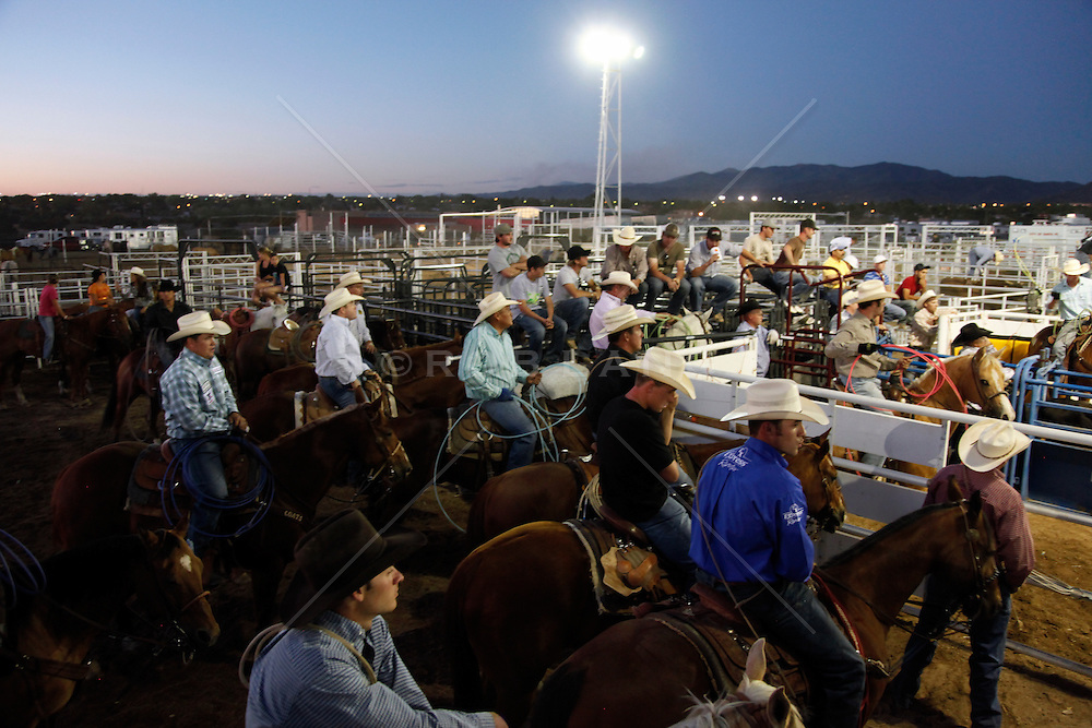 rodeo cowboys in New Mexico