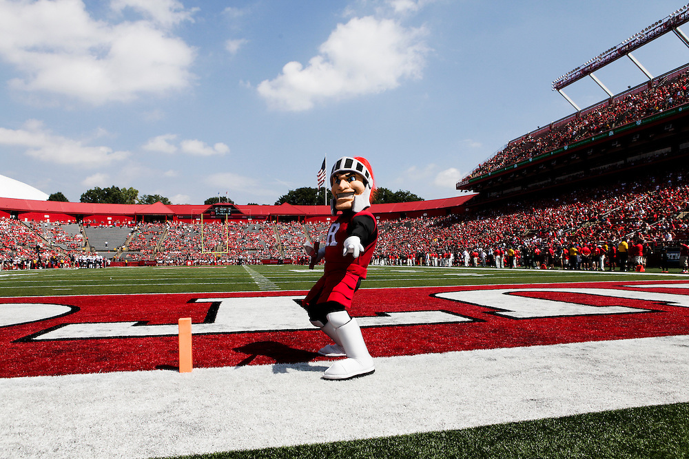 High Points Solutions Stadium, Rutgers University, Piscataway, NJ - 9/6/14: <br /> <br /> Rutgers beat Howard University 38 to 45 during the first home game of the season on Saturday September 6, 2014. <br /> <br /> CREDIT: Christopher Gregory / Rutgers Athletics