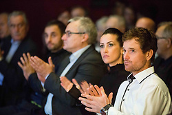 Blaz Kavcic during Slovenian Tennis personality of the year 2017 annual awards presented by Slovene Tennis Association Tenis Slovenija, on November 29, 2017 in Siti Teater, Ljubljana, Slovenia. Photo by Vid Ponikvar / Sportida