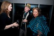 REBECCA IRVIN; BOB AND ROBERTA SMITH; ZAHA HADID, Miroslaw Balka/John Baldessari Opening Reception, Tate Modern. Monday 12 October