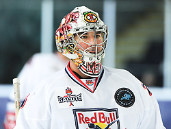 17.12.2011, Volksgarten Eisarena, Salzburg, AUT, Red Bull Salute, Linkoepings HC vs EC Red Bull Salzburg, at the picture goalkeeper MArty Turco (EC Red Bull Salzburg, #35), during the Red Bull Salute Semifinal, Volksgarten Eisarena, Salzburg, Austria, 2011-10-30, EXPA Pictures © 2011, PhotoCredit: EXPA/ Reinhard Eisenbauer