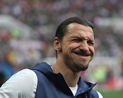 June 17, 2018 - Moscow, Russia - June 17, 2018, Russia, Moscow, FIFA World Cup, First round, Group F, Germany vs Mexico at the Luzhniki stadium. Player of the national team Zlatan Ibrahimovic (Credit Image: © Russian Look via ZUMA Wire)
