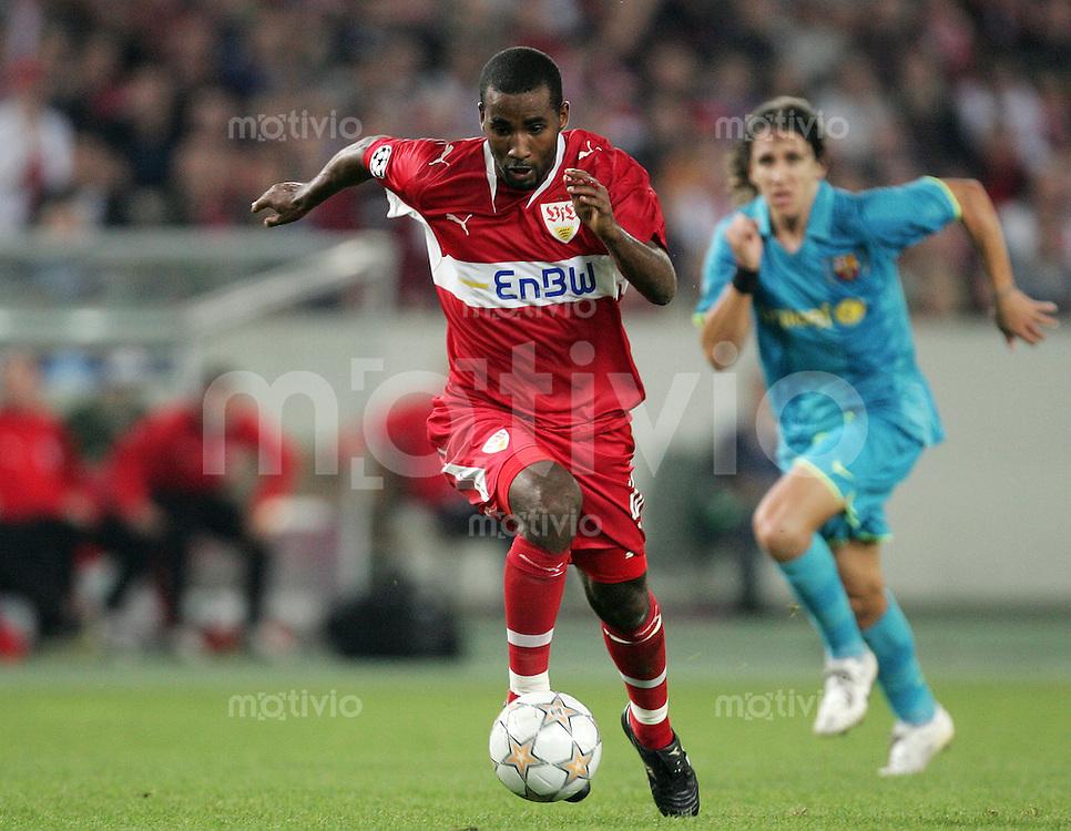UEFA Champions League 2007/08 Gruppenphase VFB Stuttgart - FC Barcelona CACAU (VFB).