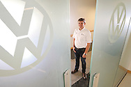 Staff Photo by Dan Henry / <br /> Christian Koch, head of operations for Volkswagen Chattanooga, stands in the company's conference center on Monday, July 13, 2015.