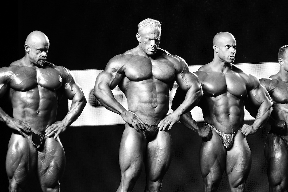 competing at the 2010 Mr. Olympia finals in Las Vegas.