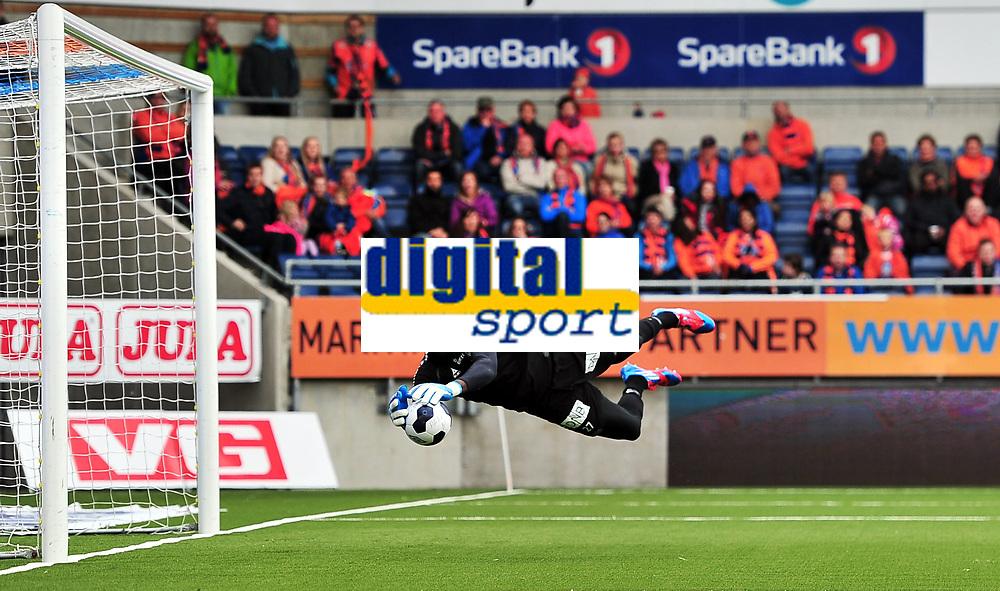 Fotball , 25. mai 2014 , Tippeligaen , Eliteserien , Aalesund - Sarpsborg 08<br /> Duwayne Kerr,<br /> Foto: Kenneth Hjelle , Digitalsport
