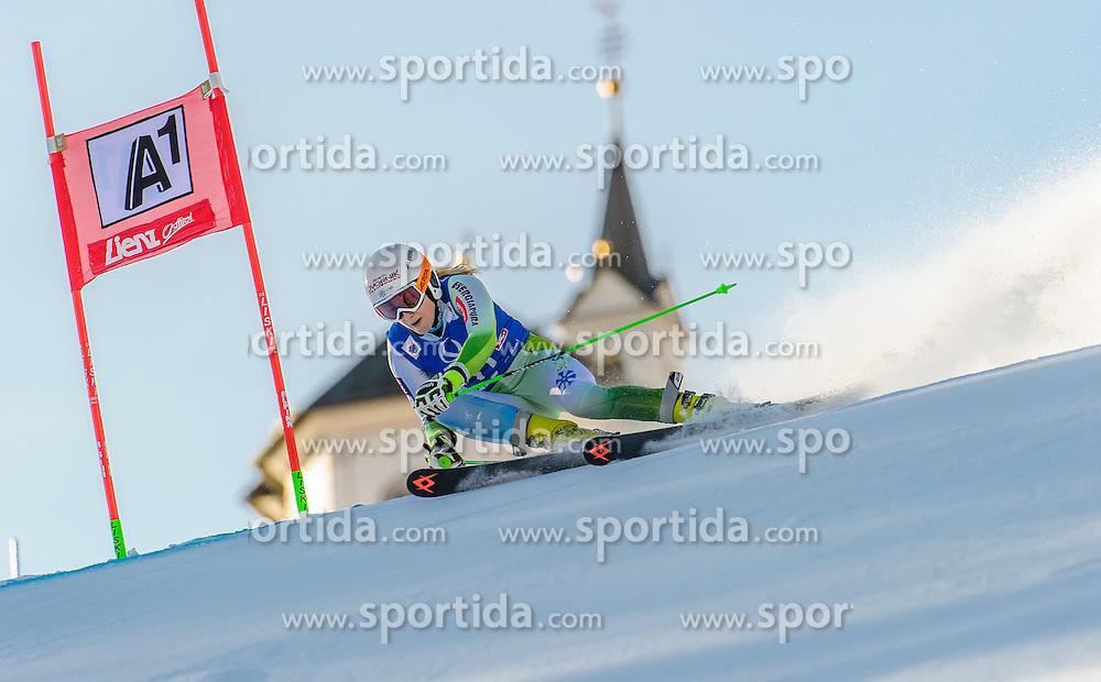 28.12.2015, Hochstein, Lienz, AUT, FIS Ski Weltcup, Lienz, Riesenslalom, Damen, 1. Durchgang, im Bild Ana Drev (SLO) // Ana Drev of Slovenia during 1st run of ladies Giant Slalom of the Lienz FIS Ski Alpine World Cup at the Hochstein in Lienz, Austria on 2015/12/28. EXPA Pictures © 2015, PhotoCredit: EXPA/ Michael Gruber