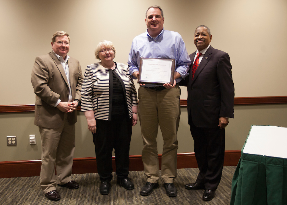 Senior Leadership Development Program Certificate Awards Ceremony. ©Ohio University/ Photo by Kaitlin Owens