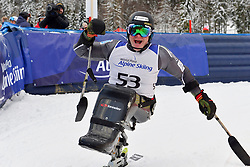 Super Combined and Super G, PEDERSEN Jesper, LW11, NOR at the WPAS_2019 Alpine Skiing World Championships, Kranjska Gora, Slovenia