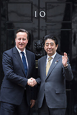 MAY 01 2014 Prime Minister meets with Prime Minister Shinzō Abe of Japan