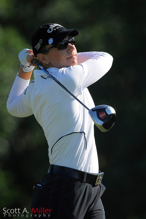 Annika Sorenstam in action during the first round of the Ginn Open at Reunion Resort on April 17, 2008 in Reunion, Florida...©2008 Scott A. Miller