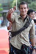SHANGHAI, CHINA - SEPTEMBER 27: (CHINA OUT) <br /> <br /> British host Bear Grylls attends the shoot of TV program Survivor Games on September 27, 2015 in Shanghai, China. <br /> ©Exclusivepix Media