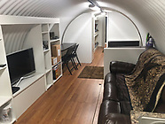 Living area in one of the Round Atlas nuclear bunkers 1 May 2017