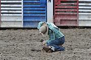 Goat Tying, Rodeo, Salmon, Idaho