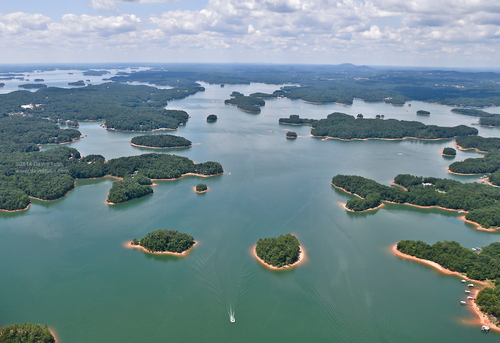 Lake Lanier Aerials Water Rights Issues Chattahoochee