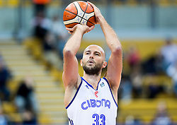 Nebojsa Joksimovic of Cibona during basketball match between KK Cibona Zagreb (CRO) and KK Mornar (MNE) in Round #4 of FIBA Champions League 2016/17, on November 9, 2016 in Drazen Petrovic Basketball center, Zagreb, Croatia. Photo by Vid Ponikvar / Sportida