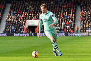 Rob Holding (16) of Arsenal during the Premier League match between Bournemouth and Arsenal at the Vitality Stadium, Bournemouth, England on 25 November 2018.