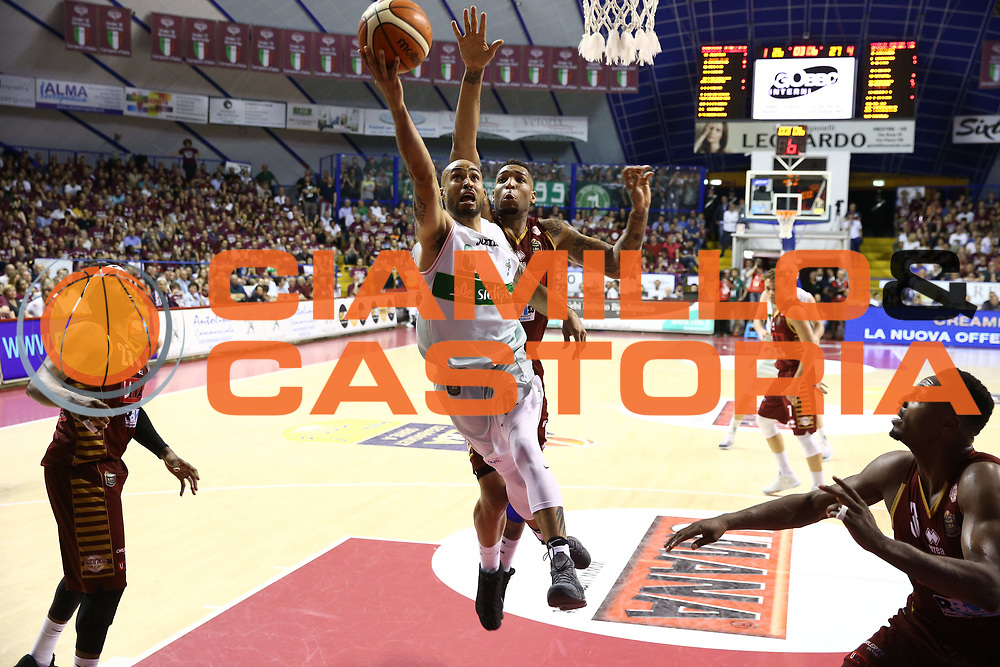 Logan David<br /> Umana Reyer Venezia vs Sidigas Avellino<br /> Lega Basket Serie A 2016/2017<br /> Play Off SemiFinali Gara 1<br /> Venezia,26/05/2017<br /> Foto Ciamillo-Castoria/A. Gilardi