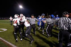 In the PIAA State Championship Imhotep Panthers advance to the Semi Finals with a 46-16 win over Academy Park Knights. (photo by Bastiaan Slabbers)