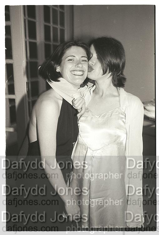 Louise Wilson, Jane Wilson Vanity Fair Serpentine Gala dinner. June 1995,