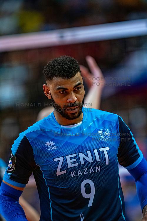 18-05-2019 GER: CEV CL Super Finals Zenit Kazan - Cucine Lube Civitanova, Berlin<br /> Civitanova win the Champions League by beating Zenit in four sets / Earvin Ngapeth #9 of Zenit Kazan