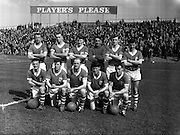 15/04/1962<br /> 04/15/1962<br /> 15 April 1962<br /> Soccer; Shamrock Rovers v Waterford, F.A.I. Cup Semi - Final at Dalymount Park, Dublin. The Waterford team.