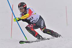 SCHORNSTEIN Kirk LW6/8-1 CAN at 2018 World Para Alpine Skiing World Cup slalom, Veysonnaz, Switzerland