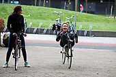 Eerste ligfietservaring - first time on a recumbent